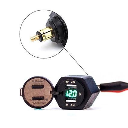 Amazon.com: Eriding 2 - Cargador USB con adaptador de ...