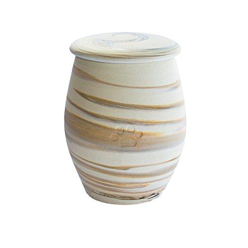 Urne aus Keramik für Tiere–MADE IN ITALY