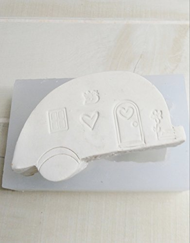 Silicone Mold of RV Camper Silicone Soap Candle Mold from Laurel Arts