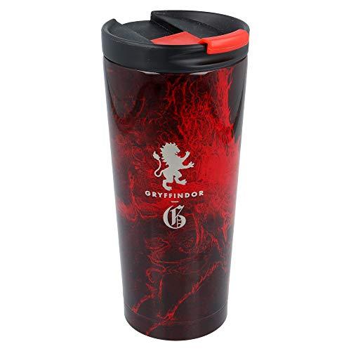 Stor Harry Potter | Termo Cafe para Llevar - Taza Termica de Viaje Acero Inoxidable 425 ml | Vaso Hermetico para Te o Cafe sin BPA con Tapa Antigoteo