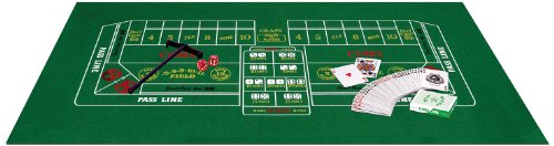 Beistle 50085 Blackjack/Craps Set -