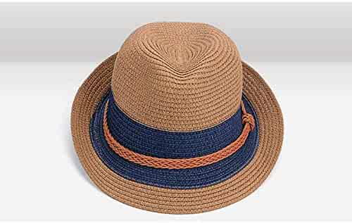 9f13e365 Summer Jazz Women Straw Hat Beach Men Sun Hat Casual Panama Male Cap Hemp  Rope Patchwork