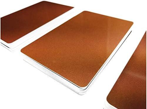 10 Plastikkarten SCHIEFER DESIGNPremium QualitätPVC KartenNEU