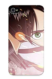 Hard Plastic Iphone 5/5s Case Back Cover, Hot Sasha Blouse Attack On Titan Case For Christmas's Perfect Gift