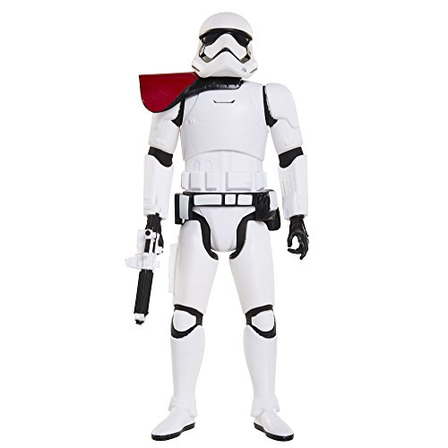"Star Wars Big Figs Episode VII 18"" Red Pauldron Stormtrooper Action Figure"