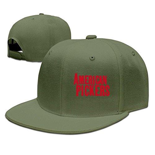 Pickers nbsp;colores de Tom negro béisbol Mujeres 7 Verde American Hombres Cool ForestGreen gorra nZZv6Ox