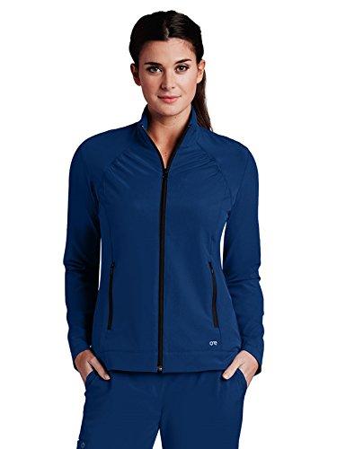 Discount Barco One 5405 Women's Crew Neck Zipper Jacket