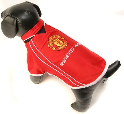 Amazon Com Home Win Manchester United F C Dog Shirt Small Pet Supplies