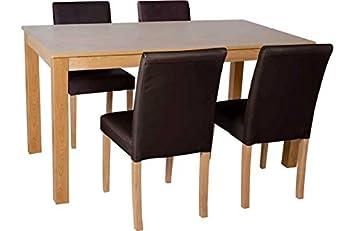 Oak Effect Melamine 120cm Dining Table By Argos