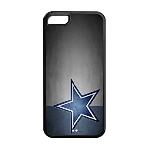Custom Dallas Cowboys NFL Series Back Cover Case for iphone 5C JN5C-1155