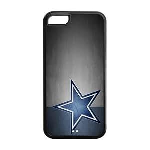 Custom Dallas Cowboys NFL Series Back Cover Case for iphone 5C JN5C-1155 by icecream design