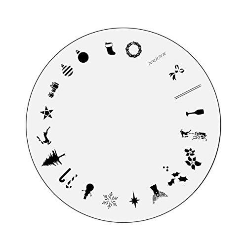 Nail Master Design Wheel: Christmas