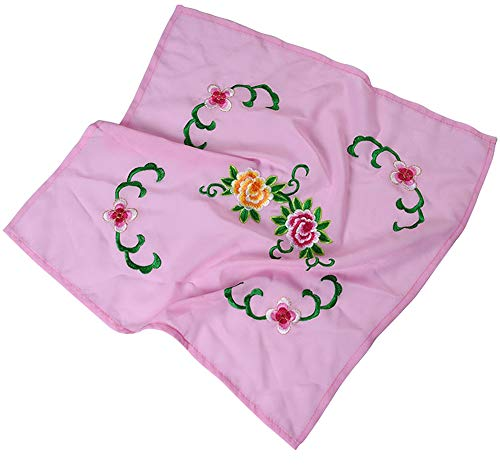 Handkerchiefs Embroidery Chinese (Dance handkerchief Embroidered Handkerchief Cheongsam Accessories [B])