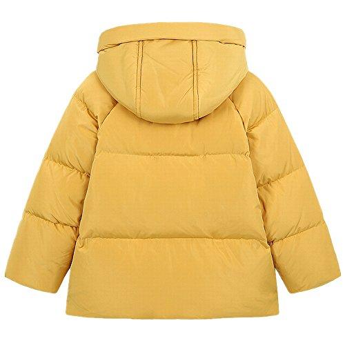 QJH New Pattern Boys Girls Fashion Down Coat Childrens' Puffer Hoody Jacket by QJH (Image #2)