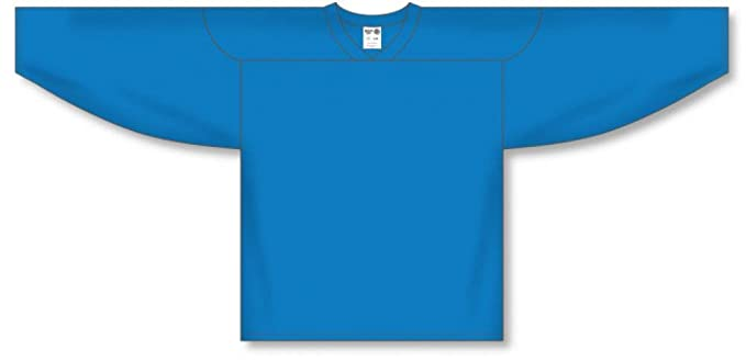 5e997377e Customization Depot Pro Blue Practice Blank Hockey Jerseys: Amazon ...