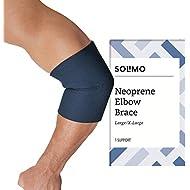 Amazon Brand - Solimo Elbow Brace, Large/Extra Large