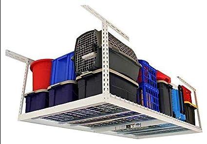 Amazon com: Aromzen 4 ft  x 6 ft  Garage Overhead Storage