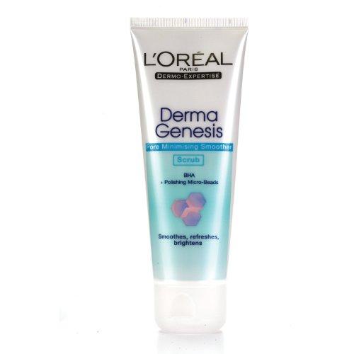 L'oreal Derma Genesis Pore Minimising Smoother Scrub 100ml. 2pack