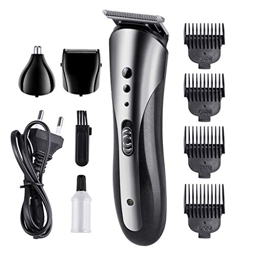 UMFun3 in 1 Hair Trimmer Rechargeable Electric Nose Hair Clipper Razor Beard Shaver