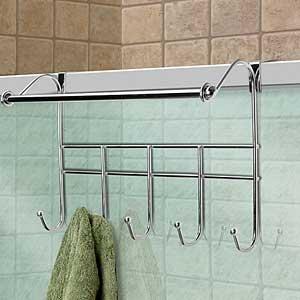 Totally Bath Living Over The Door Hook With Towel Rack Home Kitchen