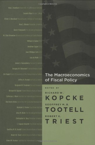 The Macroeconomics of Fiscal Policy (MIT Press)