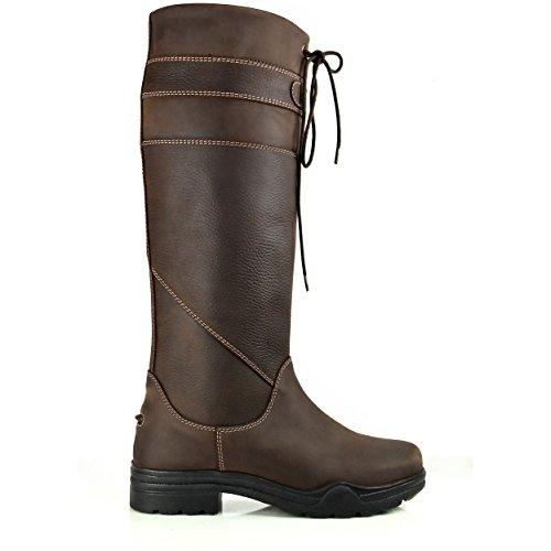 Brogini Marron D'équitation Pour Chaussures Homme OWOwaqXRC