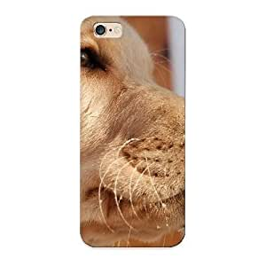 Case For Iphone 6 Plus Tpu Phone Case Cover(beige Retriever Background) For Thanksgiving Day's Gift