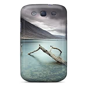 DLJFMce6774ebeQT Tpu Phone Case With Fashionable Look For Galaxy S3 - A Deadly Silence