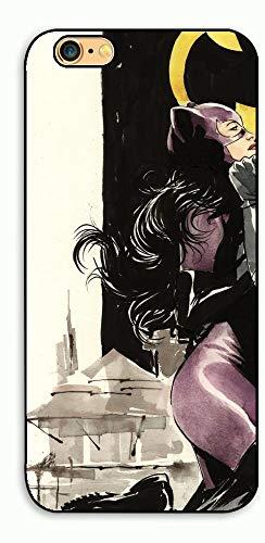 1 piece Catwoman and Batman Couple Cellphone Hard Case Cover for iphone 4/4s/5/5s/6/6plus/7 7plus/8/8plus