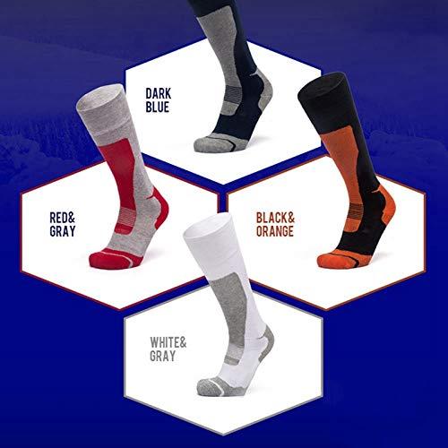 Amazon.com: KathShop Ski Socks Thick Cotton Sports Snowboard Cycling Skiing Soccer Socks Men & Women Moisture Absorption High Elastic Socks: Kitchen & ...