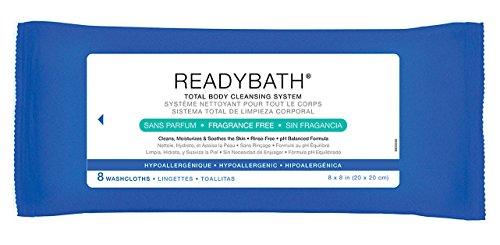 Pre-Moistened, Readybath Bathing Wipes