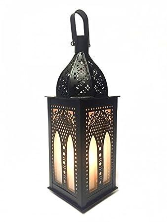 Orientalische Laterne Aus Metall Glas Asrar 29cm Orientalisches