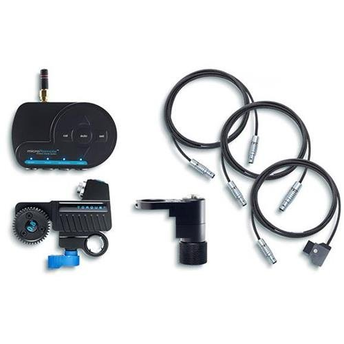 Redrock Micro microRemote Handheld Fingerwheel Bundle for Camera and Lens, Includes FlexCables, microRemote Fingerwheel Controller, Torque ()