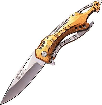 MTech USA Taschenmesser Outdoor Messer Stonewashed Klinge  MT-20-30BK