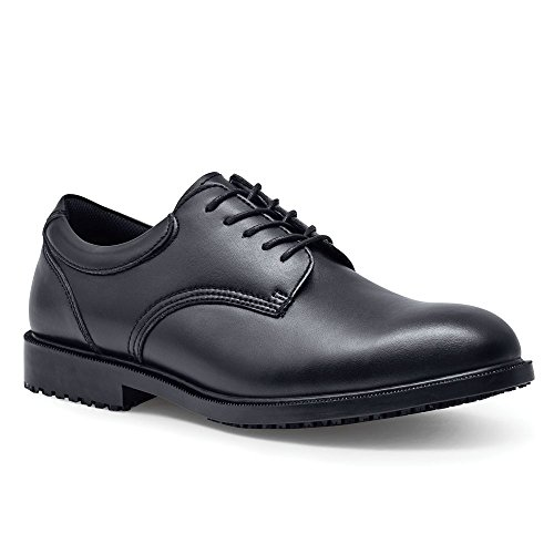 Shoes For Crews Mens Cambridge Dress-Oxford Slip Resistant Work Shoe Black
