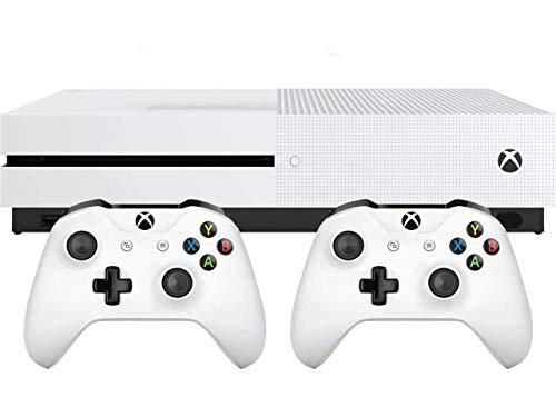 41FSkMY7n L - Xbox One S Two Controller Bundle (1TB) Includes Xbox One S, 2 Wireless Controllers, 3-Month Game Pass Trial, 14-day Xbox Live Gold Trial