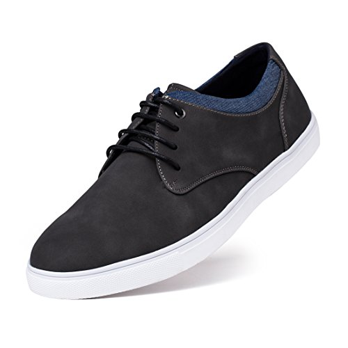 cc7b270cc2f71 Jivana Men's Sneaker Flat Casual Shoes Black/Brown | Product US Amazon