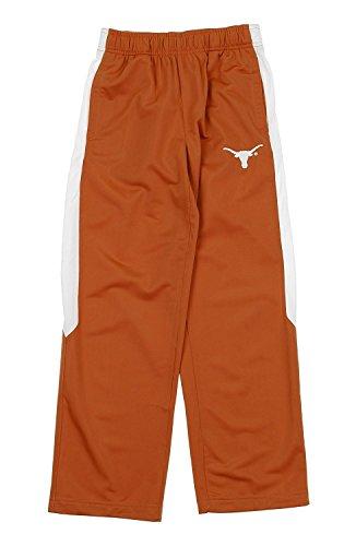 Outerstuff NCAA Texas Longhorns Youth Boys Performance Pants, Burnt Orange
