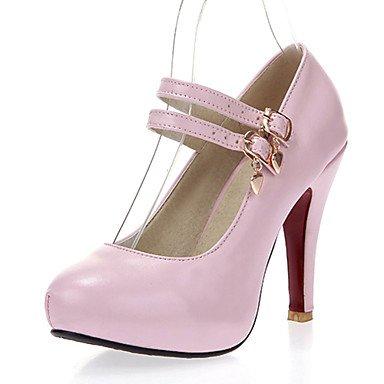 Zormey Women'S Shoes Stiletto Heel/Round Toe Heels/Party &Amp; Evening/Dress Blue/Pink/White US5.5 / EU36 / UK3.5 / CN35