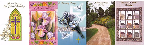(Assorted Religious Birthday Greeting Cards 30)