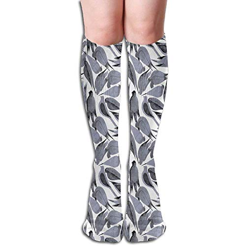 Unisex Pigeon Bird Long Comfortable Socks Knee High Novelty Sock ()