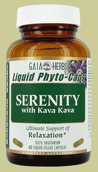 Gaia Herbs Serenity, 60-capsule de bouteille