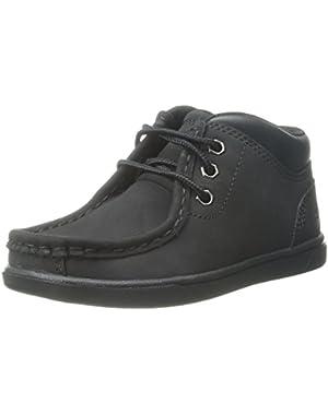 Groveton Leather Moc Chukka Boot (Toddler/Little Kid/Big Kid) Wheat Nubuck