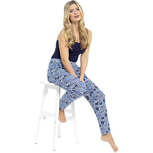CityComfort® - Pantalón - para mujer Blue & Navy