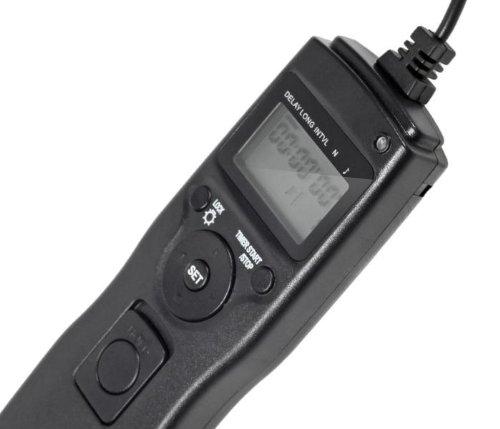 Ayex Timer-Fernauslöser N3 für Canon EOS 7D, 5D Mark II, 5D Mark III uvm.