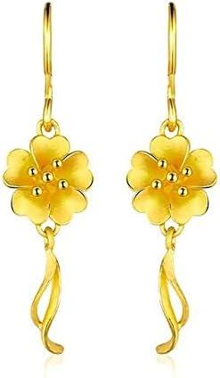 Beydodo Pendientes Mujer Pendientes Oro Amarillo Pendientes de Mujer Pendientes Estambres Pendientes