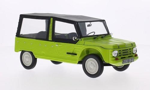 Citroen Mehari, light Grün, 1983, Model Car, Ready-made, Norev 1:18 by Citroen