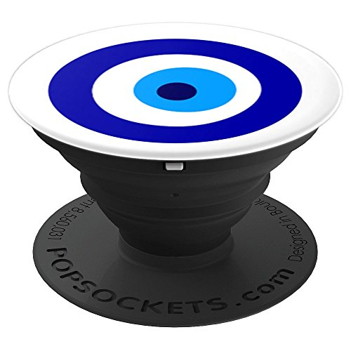 Evil Eye Greek Talisman Mati Charm - PopSockets Grip and Stand for Phones and Tablets