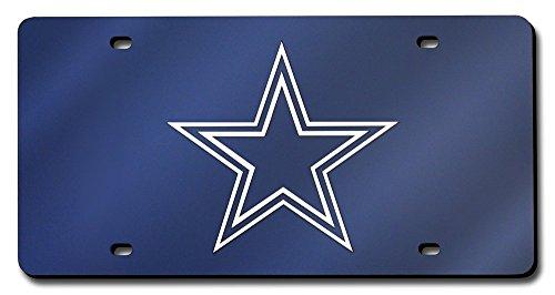 Dallas Cowboys License Plate Laser Tag - Dallas Cowboys Laser License Plate