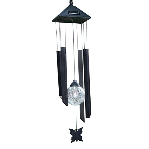 GPISEN Outdoor Color-Changing LED Solar Mobile Wind Chime Windlights Wind Chimes